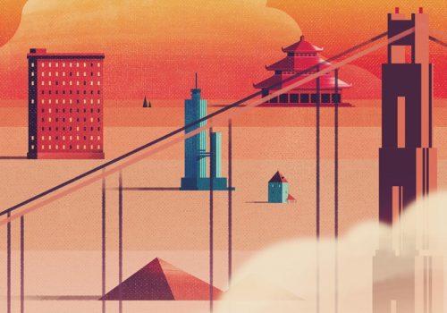 Futuristic Modern City